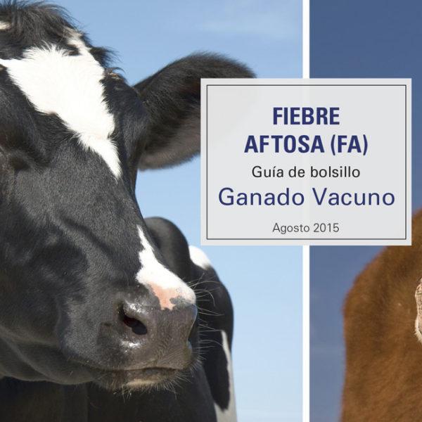 FMD Pocket Guide Cattle - Spanish