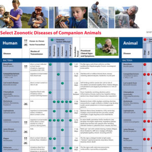 Select Zoonotic Diseases Companion Animals Wallchart